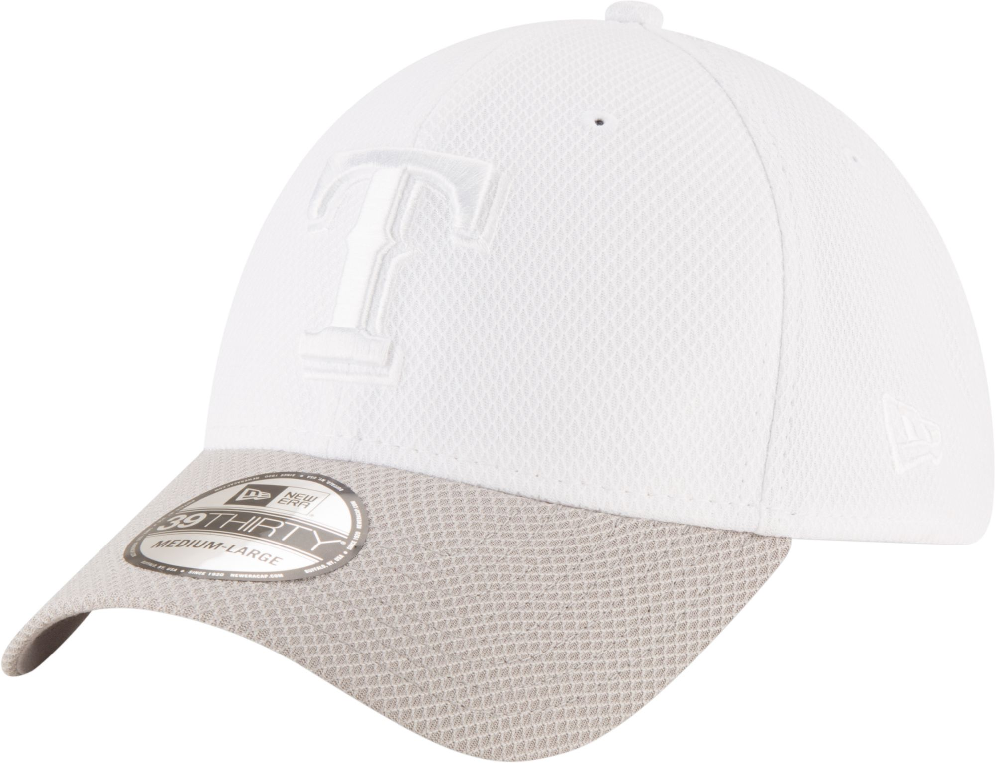 super popular 795d9 95751 ... where can i buy new era mens texas rangers 39thirty tone tech stretch  fit hat 0efa0