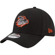 New Era Men's Lehigh Valley Ironpigs 9Forty Black Adjustable Hat