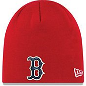 New Era Men's Boston Red Sox Knit Hat