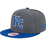 New Era Men's Kansas City Royals 9Fifty Grey Adjustable Hat