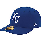 New Era Men's Kansas City Royals 59Fifty Game Royal Low Crown Authentic Hat
