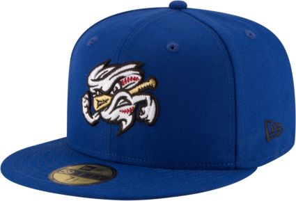 20bafcf571c New Era Men s Omaha Storm Chasers 59Fifty Royal Authentic Hat ...