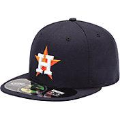 New Era Men's Houston Astros 59Fifty Home Navy Authentic Hat