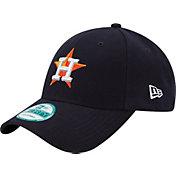 New Era Men's Houston Astros 9Forty Pinch Hitter Navy Adjustable Hat