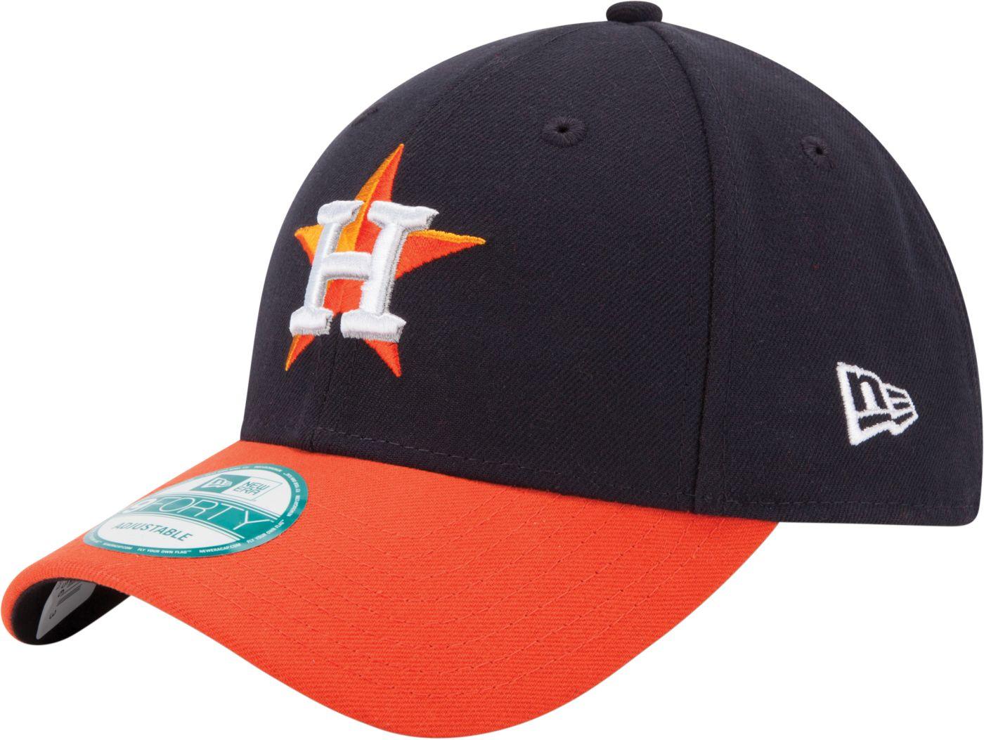New Era Men's Houston Astros 9Forty Navy Adjustable Hat