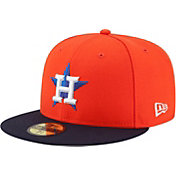 New Era Men's Houston Astros 59Fifty Alternate Orange Authentic Hat