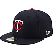 New Era Men's Minnesota Twins 59Fifty Home Navy Authentic Hat