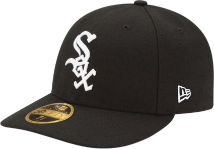 b6b0d7ef65b New Era Men s Chicago White Sox 59Fifty Game Black Low Crown Authentic Hat.  noImageFound. 1   1