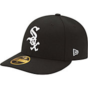 New Era Men's Chicago White Sox 59Fifty Game Black Low Crown Authentic Hat