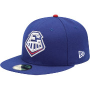 New Era Men's Round Rock Express 59Fifty Royal Authentic Hat