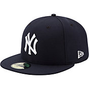 New Era Men's New York Yankees 59Fifty Game Navy Authentic Hat