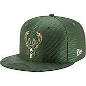 New Era Men's Milwaukee Bucks 2017 NBA Draft 59Fifty Fitted Hat