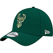 New Era Men's Milwaukee Bucks 39Thirty Stretch Fit Hat