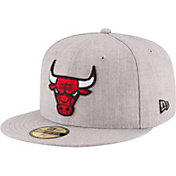 New Era Men's Chicago Bulls 59Fifty Grey Fitted Hat