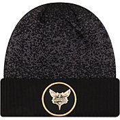 New Era Men's Charlotte Hornets On-Court Knit Hat