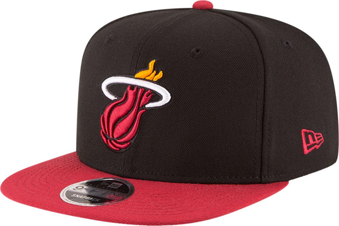 72c13eea4a6 ... free shipping new era mens miami heat 9fifty adjustable snapback hat  0eeaf 14e9d