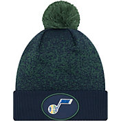 New Era Men's Utah Jazz On-Court Knit Hat