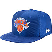 New Era Men's New York Knicks On-Court 9Fifty Adjustable Snapback Hat