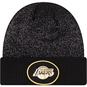 New Era Men's Los Angeles Lakers On-Court Knit Hat