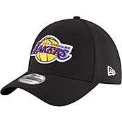 New Era Men's Los Angeles Lakers 39Thirty Black Stretch Fit Hat