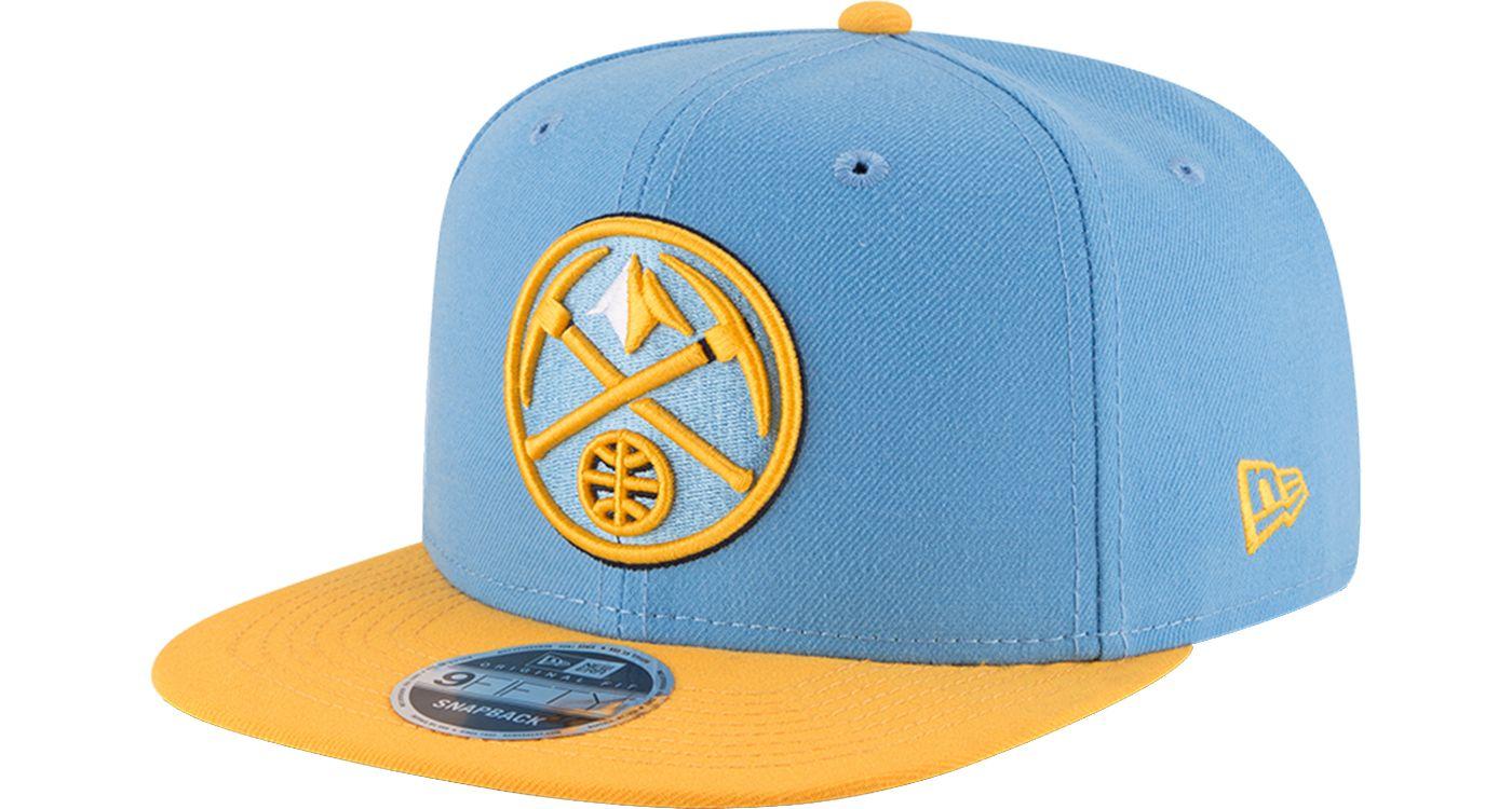 New Era Men's Denver Nuggets 9Fifty Adjustable Snapback Hat