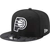 New Era Men's Indiana Pacers 9Fifty Black Camo Adjustable Snapback Hat