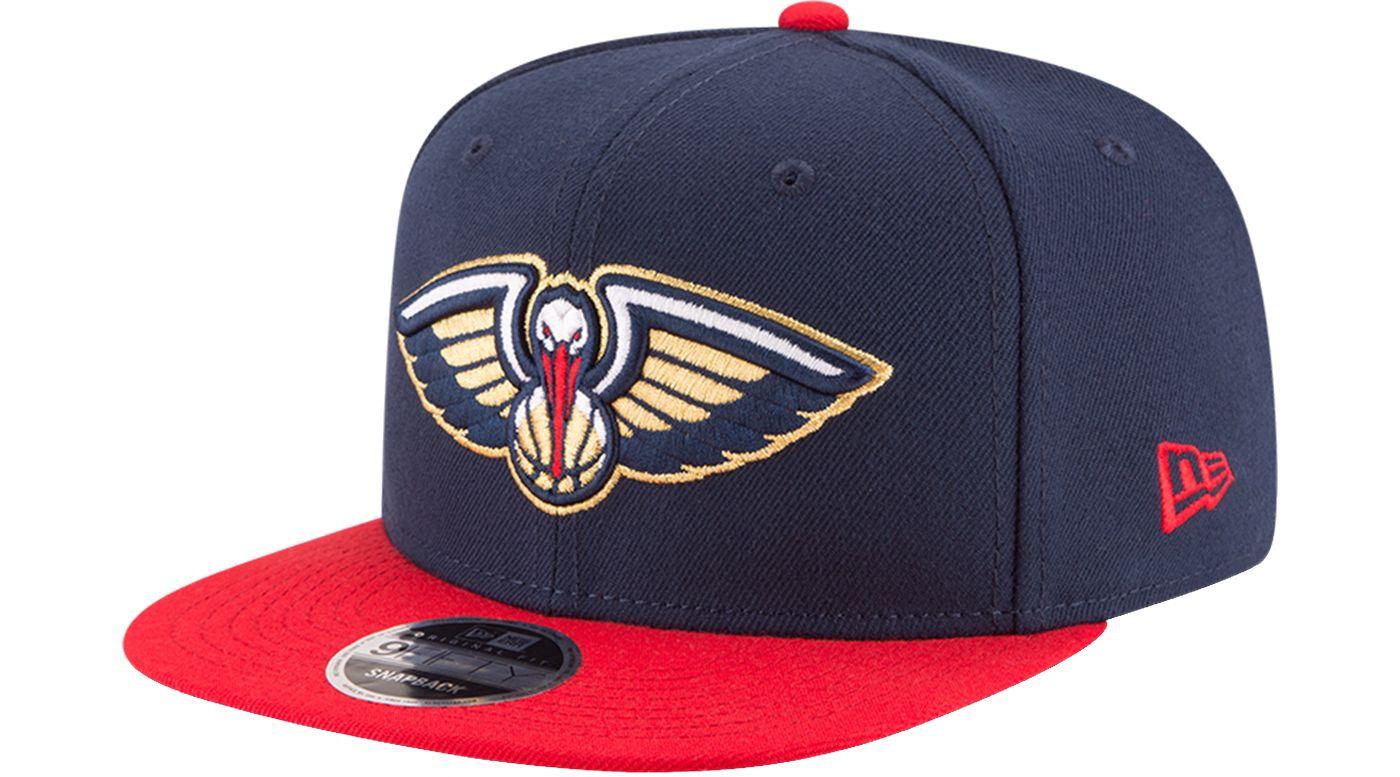 New Era Men's New Orleans Pelicans 9Fifty Adjustable Snapback Hat