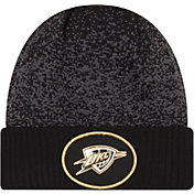 New Era Men's Oklahoma City Thunder On-Court Knit Hat