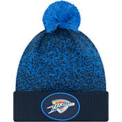 New Era Men's Oklahoma City Thunder On-Court Knit Hat