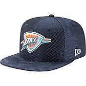 New Era Men's Oklahoma City Thunder On-Court 9Fifty Adjustable Snapback Hat