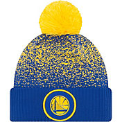 New Era Men's Golden State Warriors On-Court Knit Hat