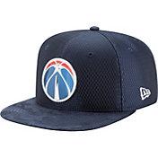 New Era Men's Washington Wizards On-Court 9Fifty Adjustable Snapback Hat