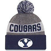 New Era Men's BYU Cougars Blue Sport Knit Beanie