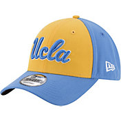 New Era Men's UCLA Bruins Gold/Blue The League Blocked 9FORTY Adjustable Hat