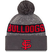 New Era Men's Fresno State Bulldogs Grey Sport Knit Beanie