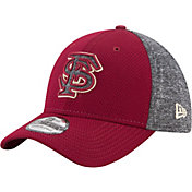 New Era Men's Florida State Seminoles Grey Fierce Fill 39Thirty Stretch Fit Hat