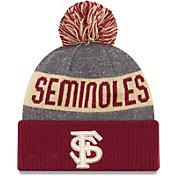 New Era Men's Florida State Seminoles Garnet Sport Knit Beanie
