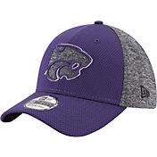 New Era Men's Kansas State Wildcats Grey Fierce Fill 39Thirty Stretch Fit Hat