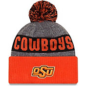 New Era Men's Oklahoma State Cowboys Black Sport Knit Beanie