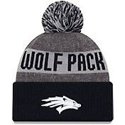 New Era Men's Nevada Wolf Pack Grey NE16 Sport Knit Beanie