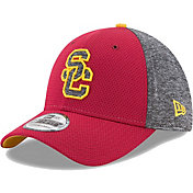 New Era Men's USC Trojans Cardinal Fierce Fill 39THIRTY Hat