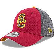 New Era Men's USC Trojans Cardinal Fierce Fill 39THIRTY Hat