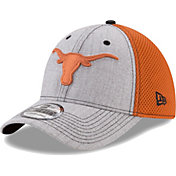 New Era Men's Texas Longhorns Grey Heathered Neo 2 39THIRTY Hat