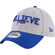 New Era Men's Buffalo Bills 2018 NFL Draft 39Thirty Stretch Fit Grey Hat