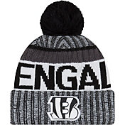 New Era Men's Cincinnati Bengals Sideline 2017 White Sport Knit
