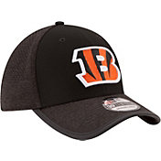 New Era Men's Cincinnati Bengals 2017 Training Camp 39Thirty Black Stretch Fit Hat