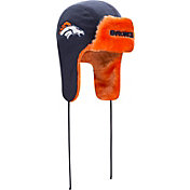 New Era Men's Denver Broncos Helmet Head Trapper Knit