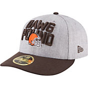 New Era Men's Cleveland Browns 2018 NFL Draft 59Fifty Fitted Grey Hat