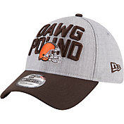 New Era Men's Cleveland Browns 2018 NFL Draft 39Thirty Stretch Fit Grey Hat