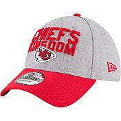 New Era Men's Kansas City Chiefs 2018 NFL Draft 39Thirty Stretch Fit Grey Hat